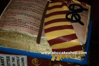 harry potter cake - ABC Cake Sop