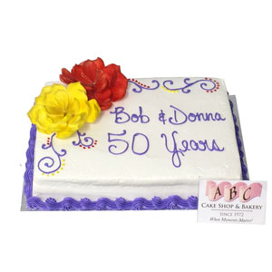 Anniversary Archives - ABC Cake Shop & Bakery