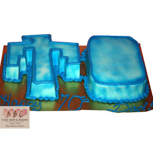 Aztec Birthday Sheet Cakes For Boys