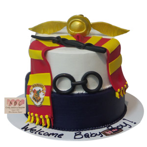 (2284) Harry Potter Baby Shower Cake