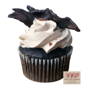 Chocolate Cover Bacon Cupcake