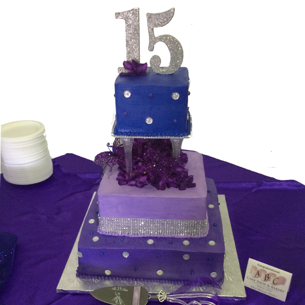 3-tier-quinceanera-purple